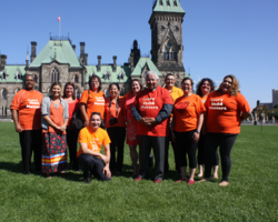 Orange Shirt Day: Every Child Matters grew out of Phyllis Webstad's account of having her sparkly new orange shirt taken away on her first day of St. Joseph Mission residential school