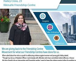 Get to know an Indigenous Youth Champion from the Kikinahk Friendship Center