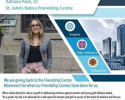 Get to know an Indigenous Youth Champion from the St. John's Native Friendship Centre